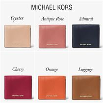 *Michael Kors*New*Mercer Leather Card Holder/ミニ財布*
