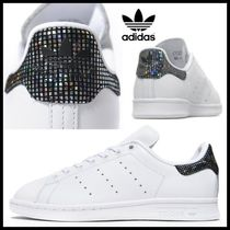 限定♪新作☆adidas☆ STAN SMITH White Black Spark グリッター