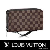 Louis Vuitton(ルイヴィトン) 雑貨・その他 【国内発送】LOUIS VUITTON ジッピーXL ダミエ・エベヌ