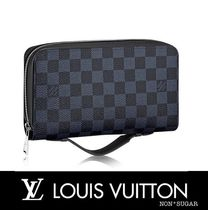 Louis Vuitton(ルイヴィトン) 雑貨・その他 【国内発送】LOUIS VUITTON ジッピーXL ダミエ・コバルト