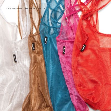 junes エコバッグ junes 丈夫でカッコイイ!万能メッシュバッグ THE MESH IN COLOR