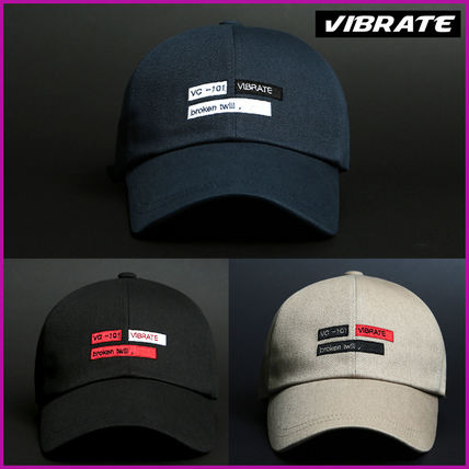 【VIBRATE】正規品★TWILL ワッペン キャップ★3色/追跡送料込