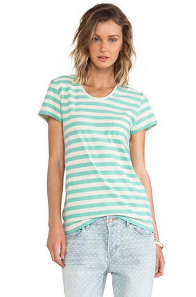 MARC JACOBS Tシャツ・カットソー 【Marc By Marc Jacobs】即発/最終セール★ストライプTシャツ(2)