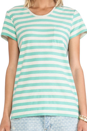 MARC JACOBS Tシャツ・カットソー 【Marc By Marc Jacobs】即発/最終セール★ストライプTシャツ(3)
