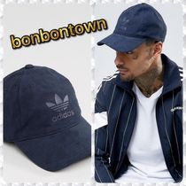【国内発/送関込】adidas Originals Suedette Cap / Blue