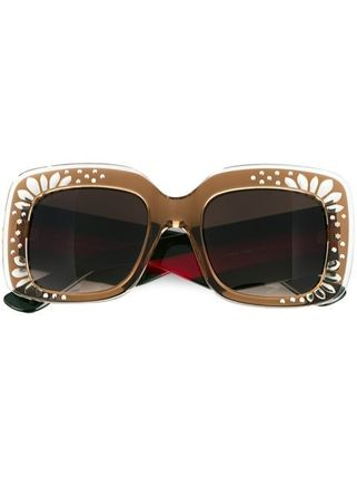 送料・関税込 GUCCI oversized sunglasses♪