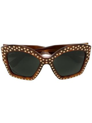 送料・関税込 GUCCI star studded sunglasses♪