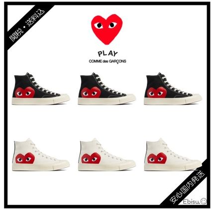 Comme des Garcons Play x Converse All Star High /