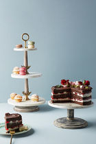 Anthropologie(アンソロポロジー) 食器(皿) New!国内発送Anthropologie*Be Our Guestケーキスタンド♪
