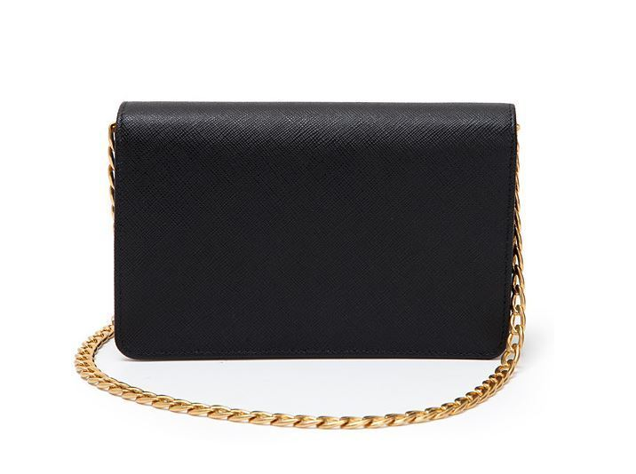 【関税負担】 PRADA SAFFIANO CHAIN CROSSBODY BAG