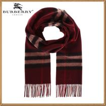 Burberry(バーバリー) マフラー ★関税&送料込★Burberry 新作★giant check cashmere scarf