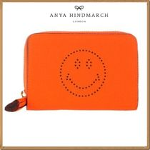 Anya Hindmarch(アニヤハインドマーチ) ポーチ ★関税&送料込★Anya Hindmarch 新作★Smiley compact wallet