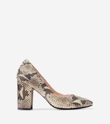 Cole Haan Eliree Pump (85mm) Sahara Snake Print セール