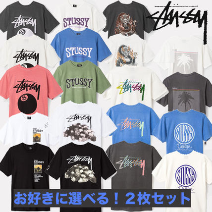 -STUSSY-deals new 21 types of T shirt Pack