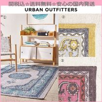 Urban Outfitters(アーバンアウトフィッターズ) ラグ・マット・カーペット 関送込☆国内発送 Urban Outfitters 新作 コットンラグマット3色