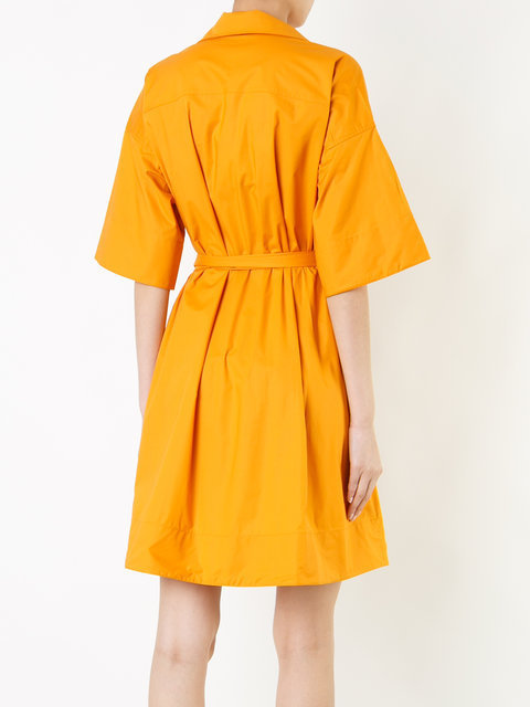 【PAULE KA】2017SS新作★short woven wrap dress ドレス