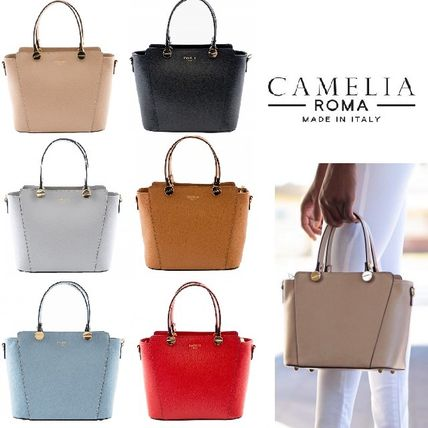 CAMELIA ROMA * popular easy-to-fit gold s Jig mini tote
