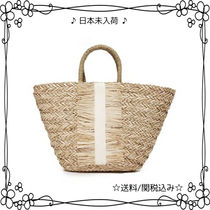HAT Attack(ハットアタック) かごバッグ 注目☆日本未入荷☆HAT Attack☆Seagrass Tote トートバッグ♪