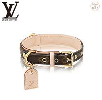 Louis Vuitton(ルイヴィトン) 首輪・ハーネス・リード Louis Vuitton☆COLLIER POUR CHIENS BAXTER MM☆首輪