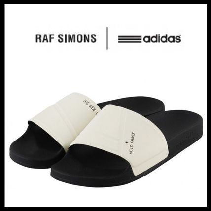 popular adidas by Raf Simons logo with sandals