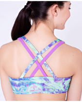 ivivva athletica(イヴィヴァ アスレティカ) キッズその他 ivivva☆Vitality Sports Bra Reversible☆purple blossom☆