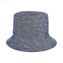 Tommy Hilfiger(トミーヒルフィガー) ハット 《トミーヒルフィガー》Men's Chambray Cotton Bucket Hat