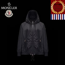 【MONCLER】ORCHIS ドローストリング 収納ポーチ ジャケット 黒