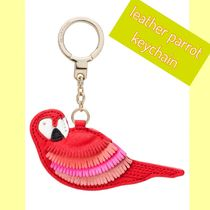 kate spade new york(ケイトスペード) キーホルダー・キーリング kate spade /キーリング/ leather parrot keychain