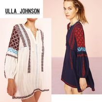 【最新作!安心追跡有】ULLA JOHNSON Yelena Dress