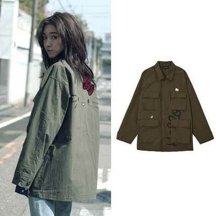 [Stero Vinyls] [Hello Kitty] BDU Jacket(Khaki)