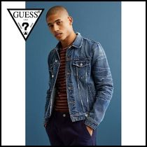 送関無料☆Guess Dillon Denim Jacket