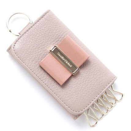 See by Chloe key case 9P7573 P345 BK1 color:WARM GRAY