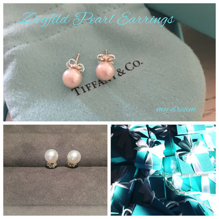 Tiffany & Co ピアス 【Tiffany & Co】Ziegfeld Pearl Earrings