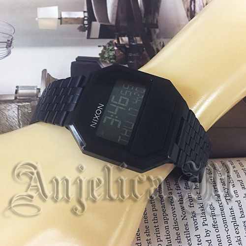 ★人気モデル★NIXON THE RE-RUN Black A158001