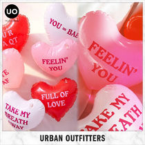 Urban Outfitters(アーバンアウトフィッターズ) インテリア雑貨・DIYその他 【国内発送】Urban Outfitters ハート型ビニール風船☆6個セット
