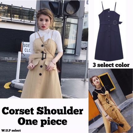 W10 trends corset Camisole dress
