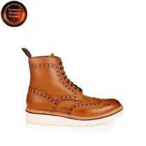Grenson(グレンソン) ブーツ 【国内発・送関込】グレンソン-Fred leather brogue boots