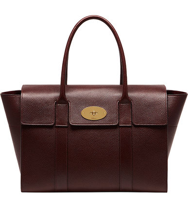 Mulberry トートバッグ 【関税・送料込】Mulberry Bayswater new レザー トートバッグ(12)