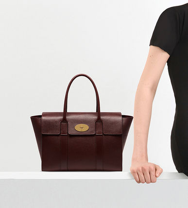 Mulberry トートバッグ 【関税・送料込】Mulberry Bayswater new レザー トートバッグ(13)