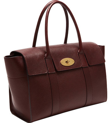 Mulberry トートバッグ 【関税・送料込】Mulberry Bayswater new レザー トートバッグ(16)