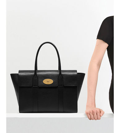 Mulberry トートバッグ 【関税・送料込】Mulberry Bayswater new レザー トートバッグ(3)