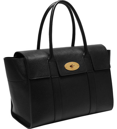 Mulberry トートバッグ 【関税・送料込】Mulberry Bayswater new レザー トートバッグ(6)