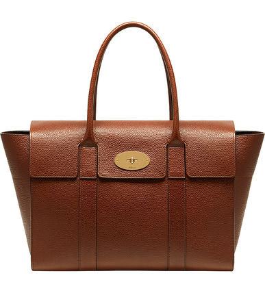 Mulberry トートバッグ 【関税・送料込】Mulberry Bayswater new レザー トートバッグ(7)