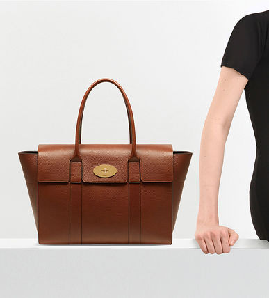 Mulberry トートバッグ 【関税・送料込】Mulberry Bayswater new レザー トートバッグ(8)