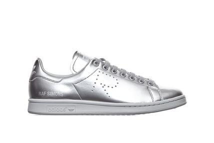 Rare sold out almost AdidasxRaf Simons Stan Smith silver