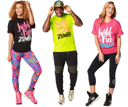Men and women and for ZUMBA Wild About Zumba Tee