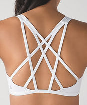 Free To Be Tranquil Bra*バックが目を引く*white