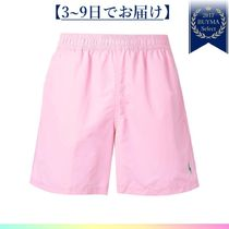 POLO RALPH LAUREN(ポロラルフローレン) 水着 すぐ届く★logo embroidered swim shorts