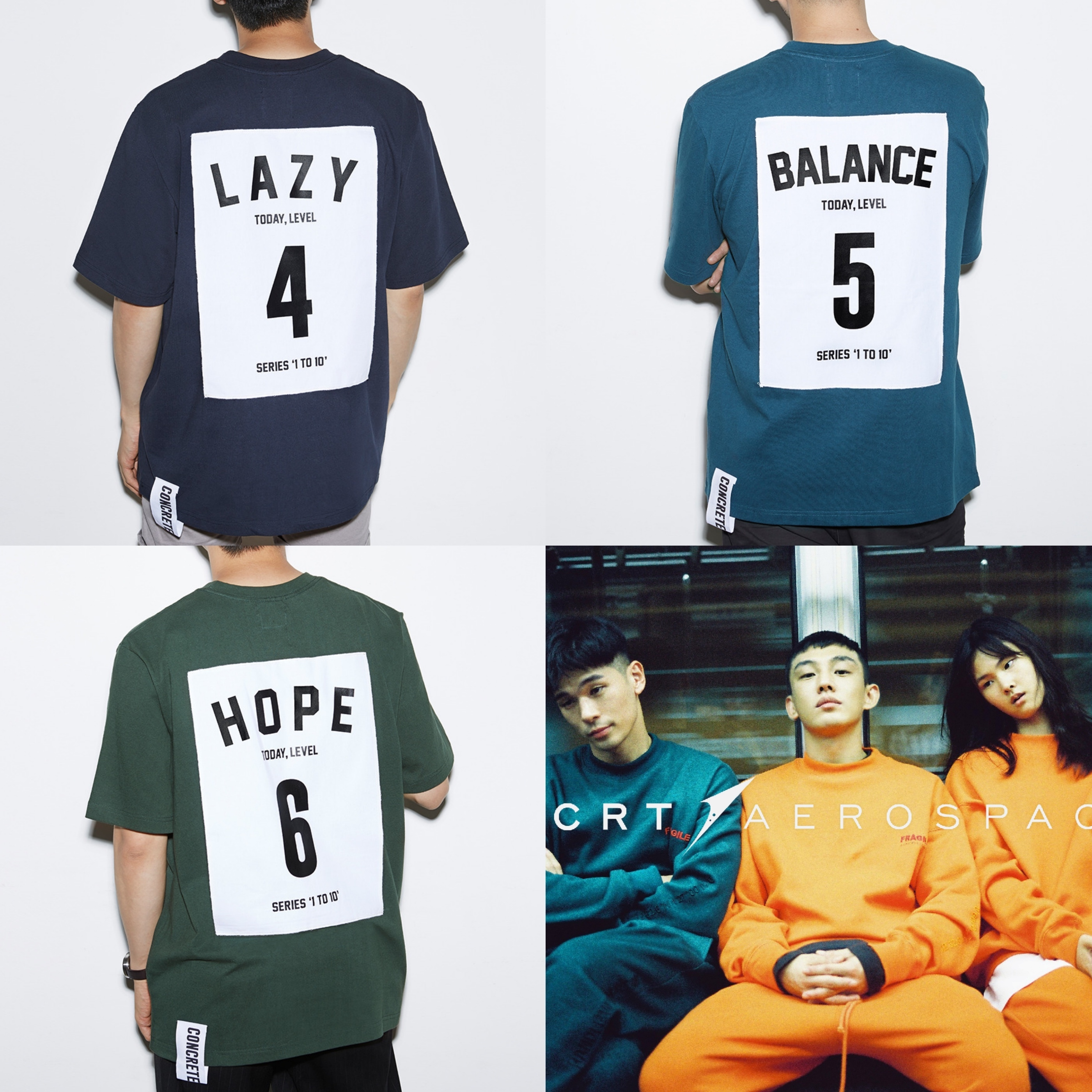 【国内完売色あり】★CCRT★ 'SERIES 1 TO 10' T-SHIRT : 4-6