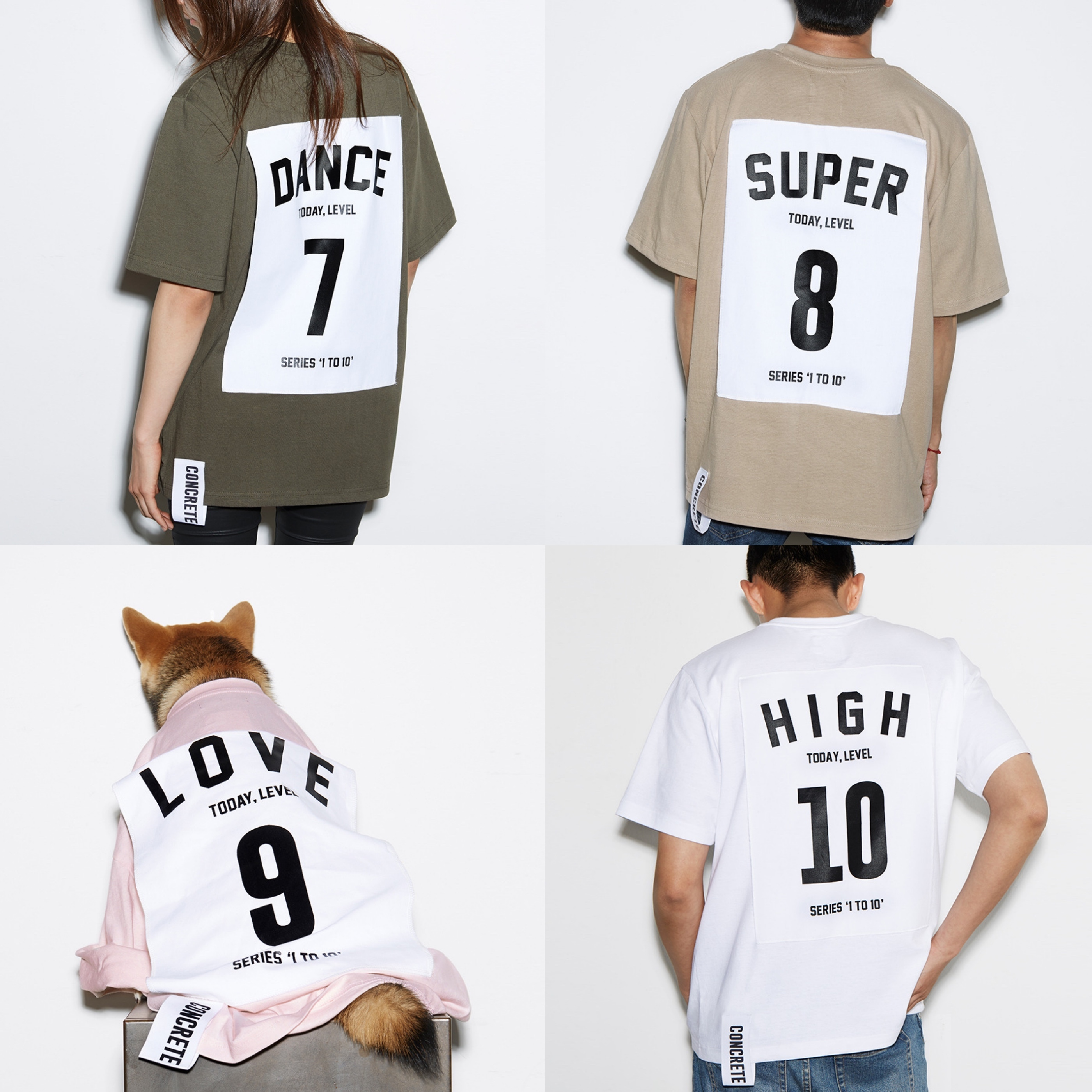 【国内完売色あり】★CCRT★ 'SERIES 1 TO 10' T-SHIRT : 7-10